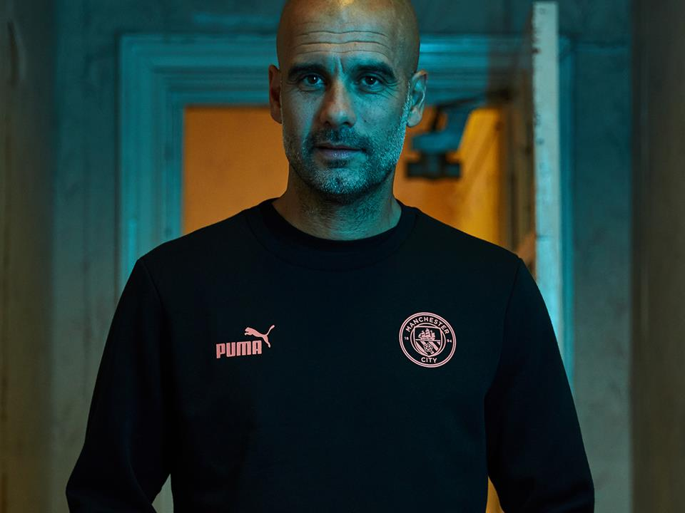 PUMA PARTNERS WITH MANCHESTER CITY MANAGER PEP GUARDIOLA