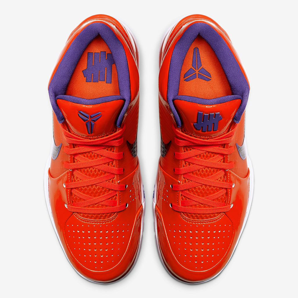 """buy online 61439 011a7 UNDEFEATED x Nike Zoom Kobe 4 Protro """"Devin """"Booker"""" Images ..."""