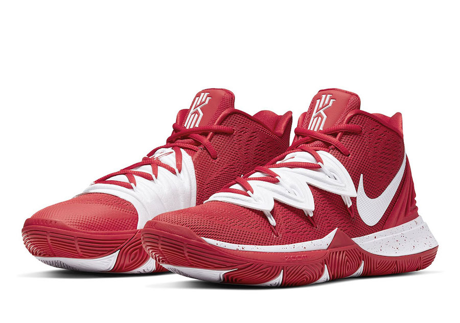 Nike Kyrie 5 TB Team Bank Red White