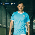 Manchester City Launches 125th anniversary Jersey