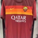 Leaked: AS Roma 2020-21 Nike Home Jersey