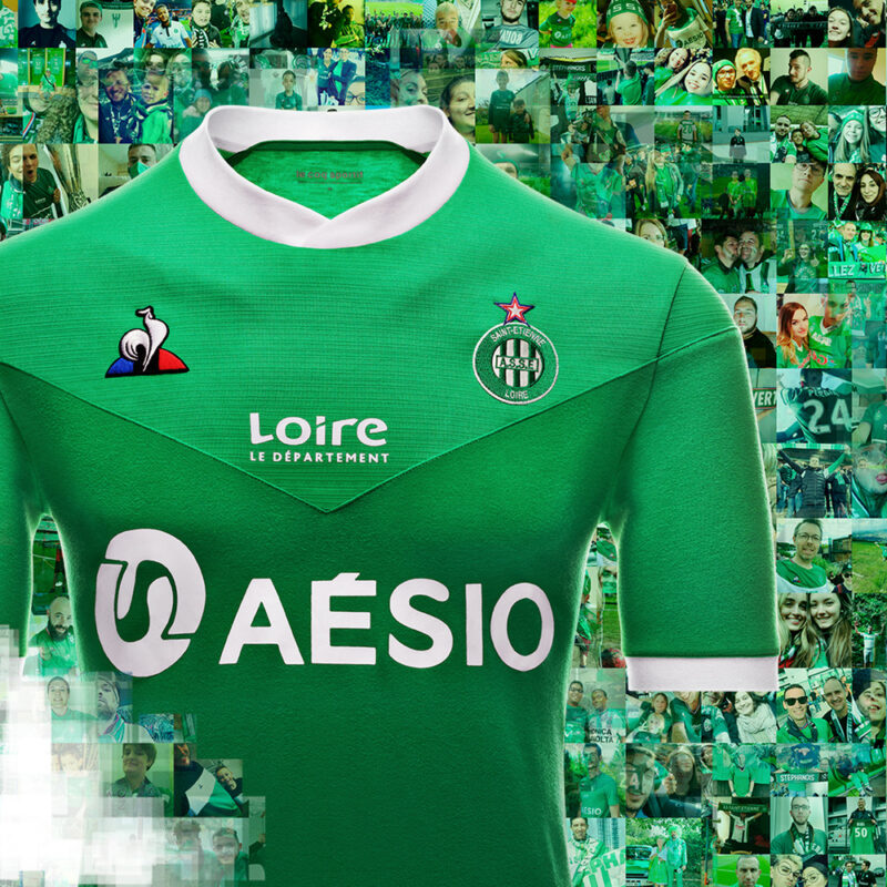AS Saint-Étienne Home Kit 2020-21