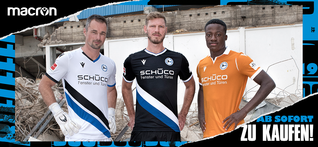 Arminia Bielefeld 2020 21 Macron Home Away And Third Kits Superfanatix Com