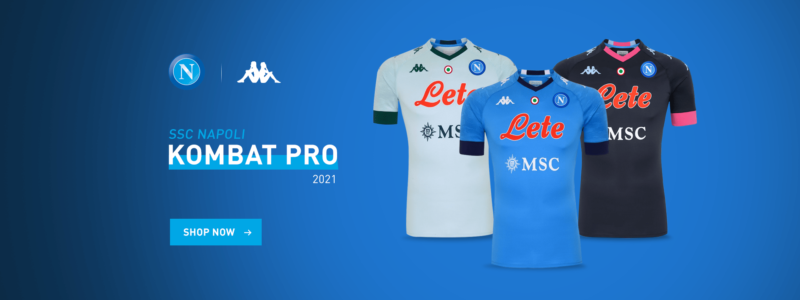 Ssc Napoli 2020 21 Kappa Home Away Third Football Kits Superfanatix Com