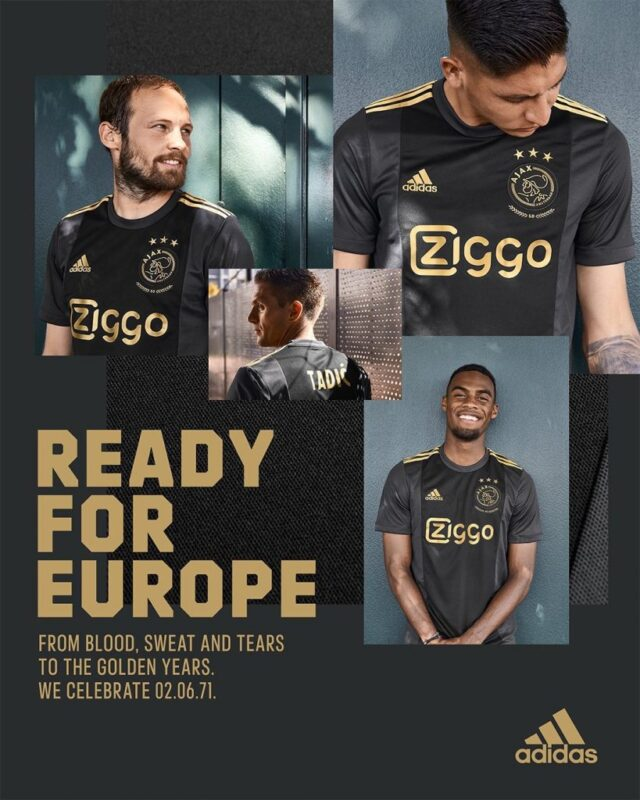 Ajax Amsterdam Champions League Kit 2020-21