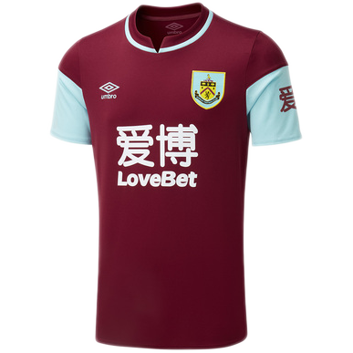 Burnley FC 2020-21 Home Jersey