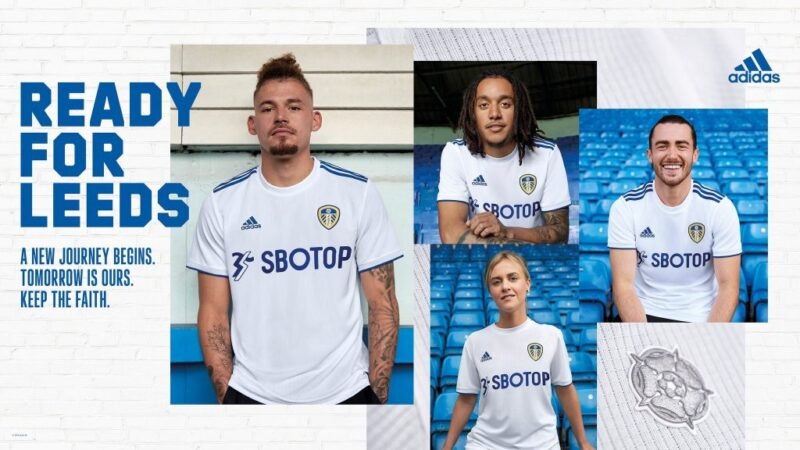 Leeds United adidas Home Kit 2020-21