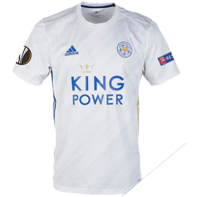 Leicester City 20-21 adidas away jersey