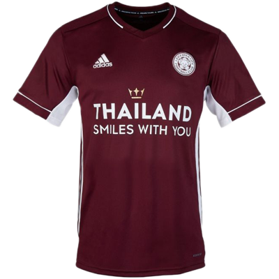 Leicester City 20-21 adidas second away jersey