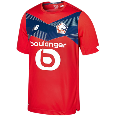 LOSC Lille 2020-21 Home Kit