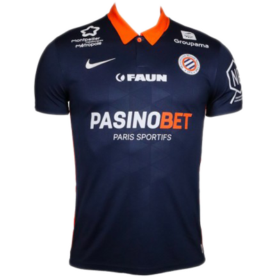 Montpellier HSC 2020-21 Nike Home Shirt