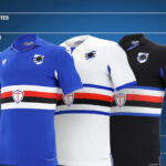 UC Sampdoria 2020-21 Home, Away and Third Macron Football Kits