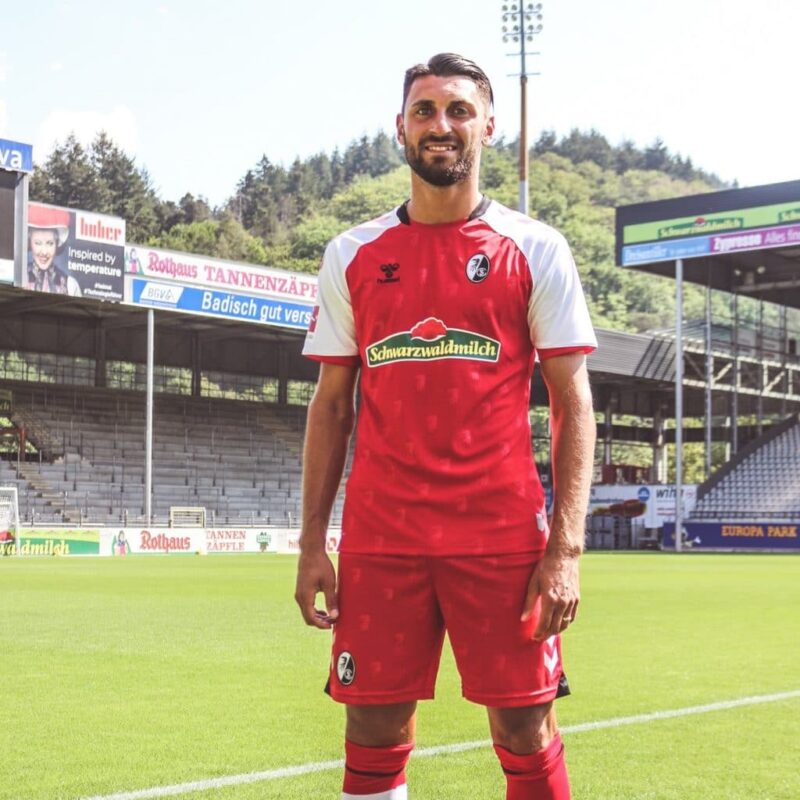 SC Freiburg Hummel 2020-21 Home Kit