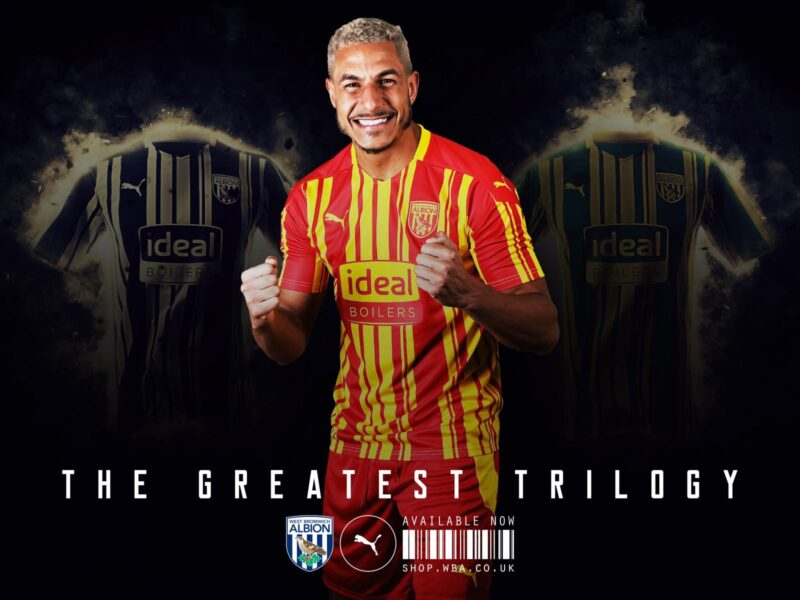 West Bromwich Puma Third Kit 2020-21