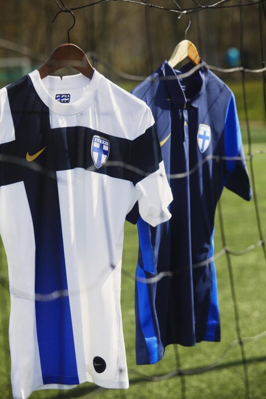 Finland 2020-21 Nike Home and Away Football Kits