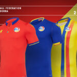 Andorra 20-21 Macron Home, Away and Third Football Kits