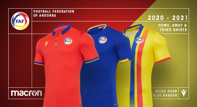 Andorra 20-21 Macron Football Kits