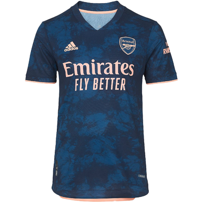 Arsenal FC 20-21 adidas third jersey
