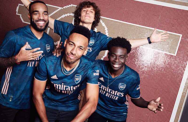 Arsenal FC adidas Third Kit 2020-21