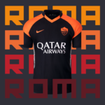 AS ROMA 2020-21 Nike Home, Away and Third Football Kits