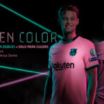 Barcelona FC Nike Home, Away and Third Football Kits 2020-21