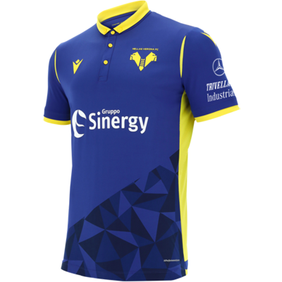 Hellas Verona 20-21 Macron Home Kit
