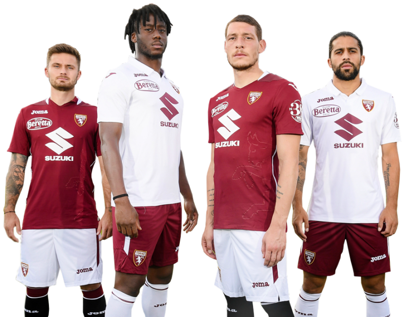 Torino Fc 20 21 Joma Home And Away Football Kits Superfanatix Com