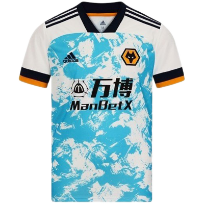 Wolves 20-21 adidas away shirt
